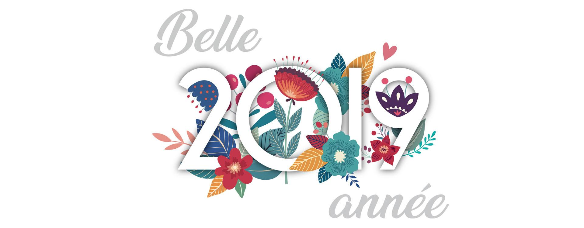 Joyeuses fêtes et meilleurs voeux pour 2019
