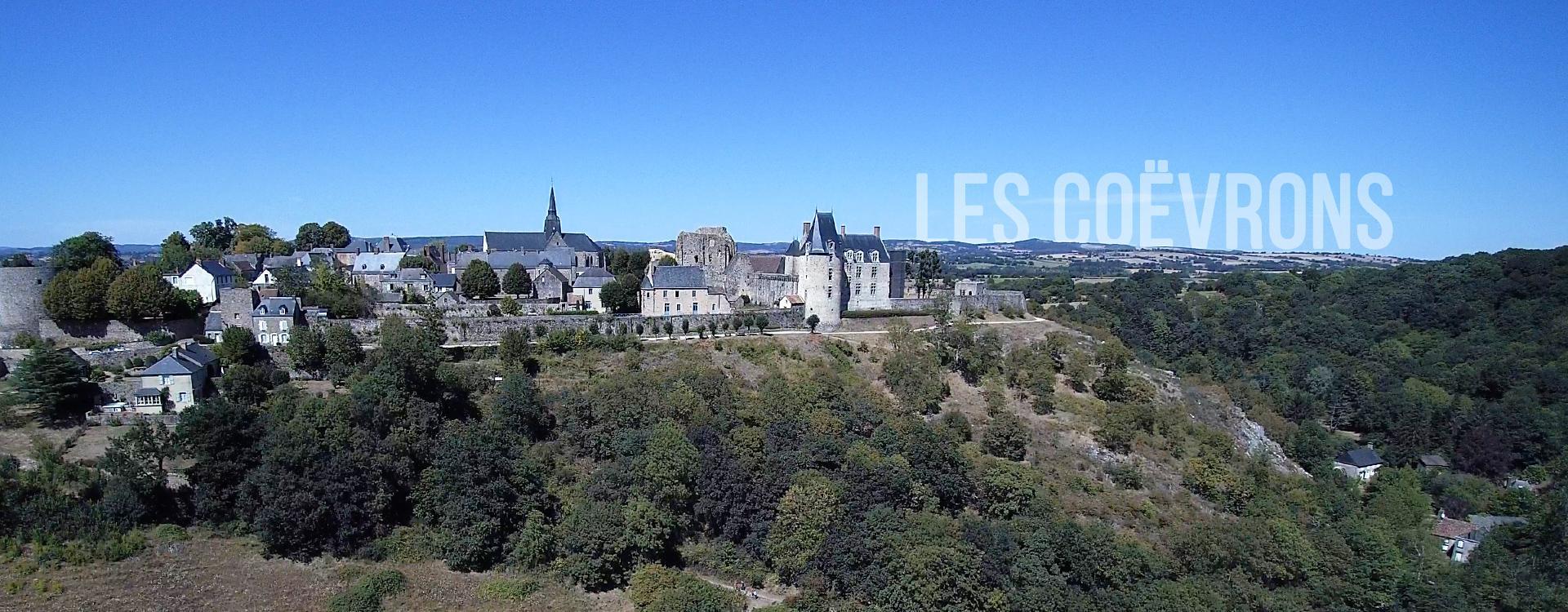 La Communauté de communes des Coëvrons en Mayenne dans les Pays de la Loire