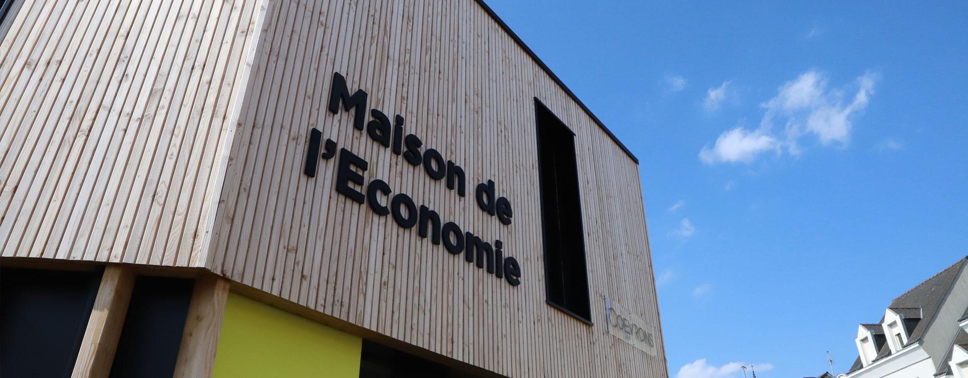 Ouverture de la Maison de l'économie des Coëvrons à Evron