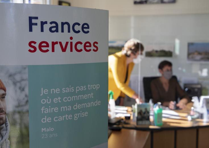 L'espace France Services des Coëvrons à Evron en Mayenne