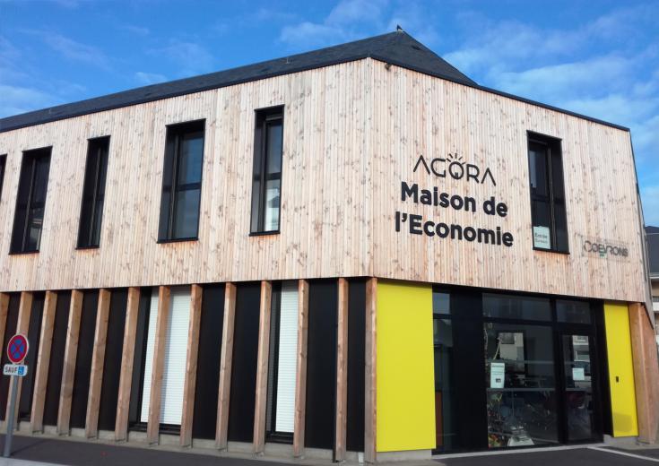 La maison de l'Economie des Coëvrons