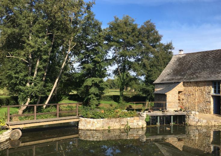 Moulin de Gô à Saint Pierre sur Erve