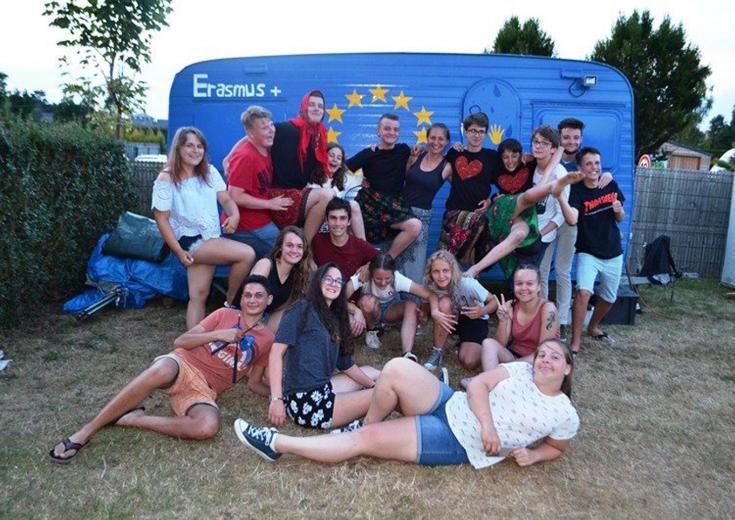 Echanges européens organisé par le service Jeunesse