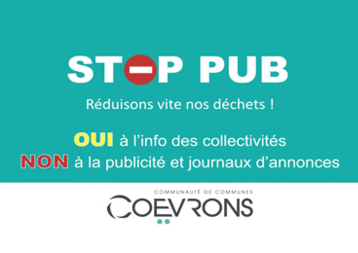 Stop pub dans les Coëvrons