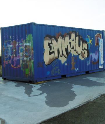 Conteneur Emmaüs
