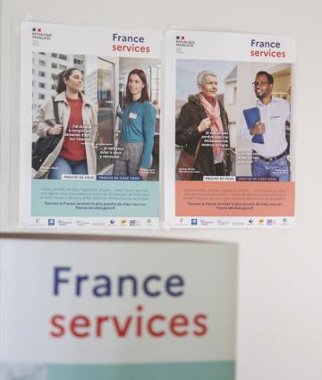 Espace France Services des Coëvrons à Evron en Mayenne