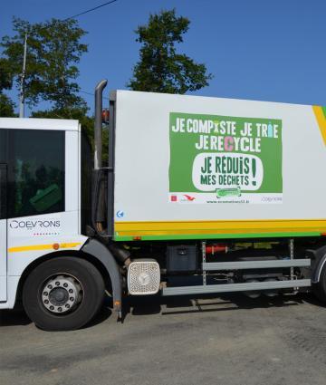 La collecte des déchets dans les Coëvrons