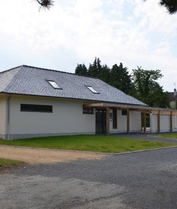 Piscine de Bais dans les Coëvrons en Mayenne