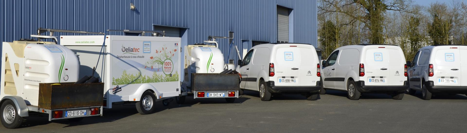 Véhicules électriques pour les services de la Communauté de communes