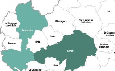 Communes nouvelles dans les Coëvrons