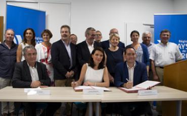 Signature du Contrat de Territoires, Région 2020