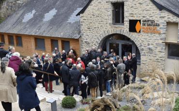 Inauguration du musée de préhistoire dans les Coëvrons