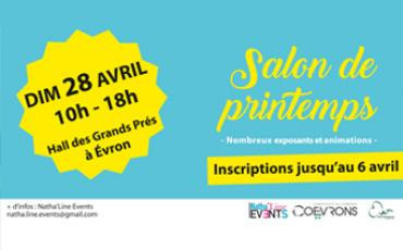 Inscription au Salon du Printemps