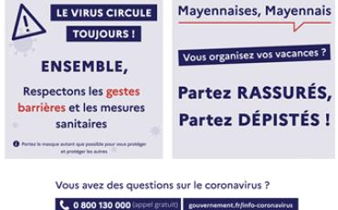 COVID19 #TousMobilisés