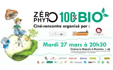 Ciné-rencontres à Montsûrs : Zéro Phyto 100% Bio
