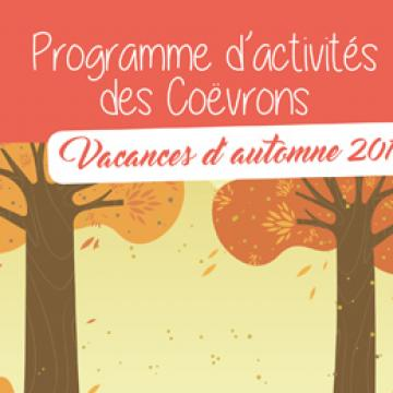 Programme des activités des Coëvrons