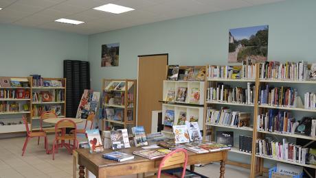 Bibliothèque de Sainte-Gemmes-le-Robert