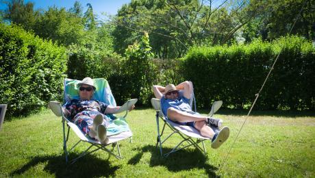 Camping des loisirs à Evron