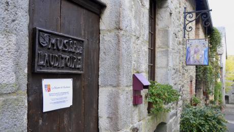 Musée de l'Auditoire à Sainte-Suzanne