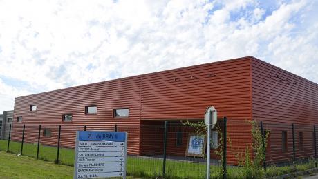 Zone industrielle du Bray II à Evron