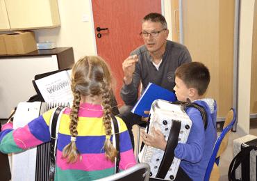 Cours d'accordéon