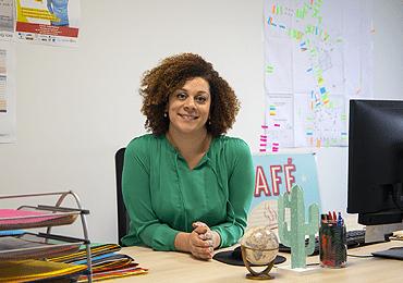 Acteurs des Coëvrons : Samia Vialenc, manager de commerce