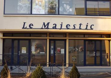 Le cinéma Le Majestic à Montsûrs