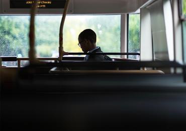 En bus dans les Coëvrons