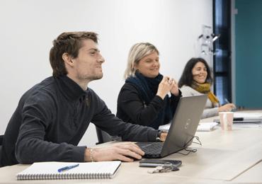 Equipe du Service Economie de la Communauté de communes des Coëvrons à Evron