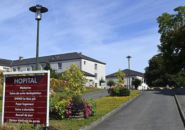 Hôpital en Mayenne