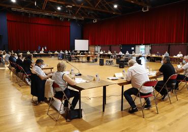 Le conseil communautaire de la Communauté de communes des Coëvrons