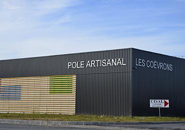 Pôle artisanal des Coëvrons en Mayenne