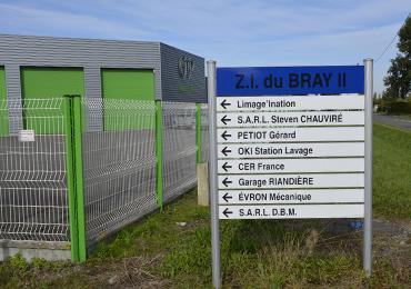 Zone industrielle du Bray 2 à Evron