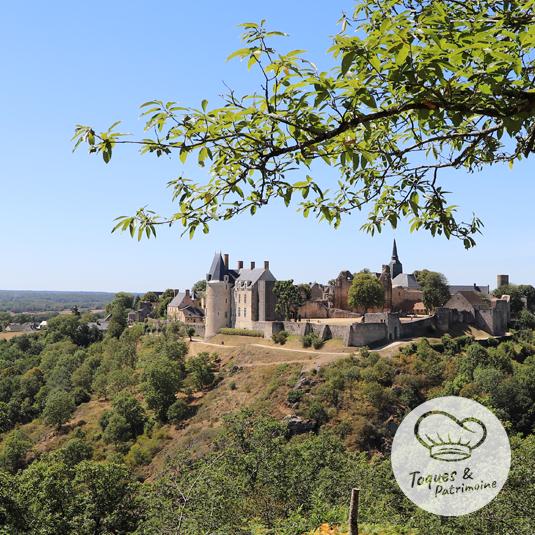 Toques et patrimoine (château de Sainte-Suzanne-et-Chammes)
